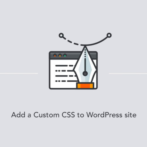 Adding a custom CSS to WordPress site