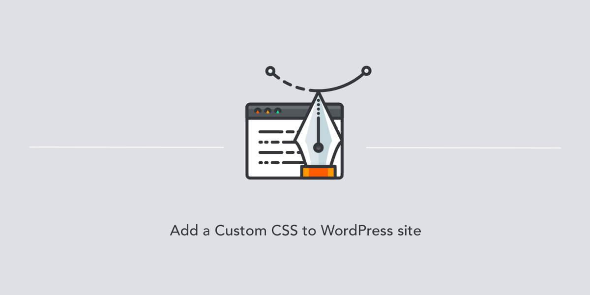 Adding a custom CSS