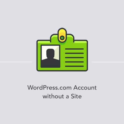 Creating a WordPress.com account