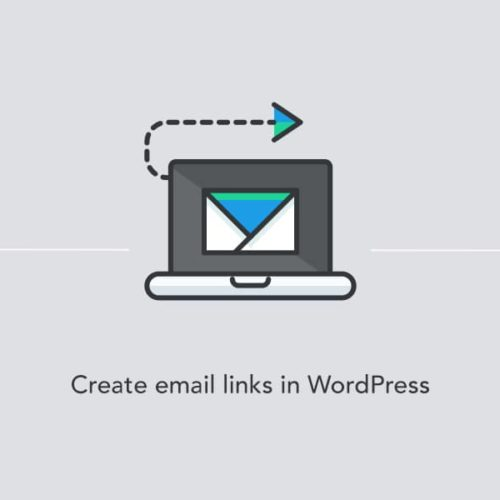 Creating email links in WordPress site using the Editor