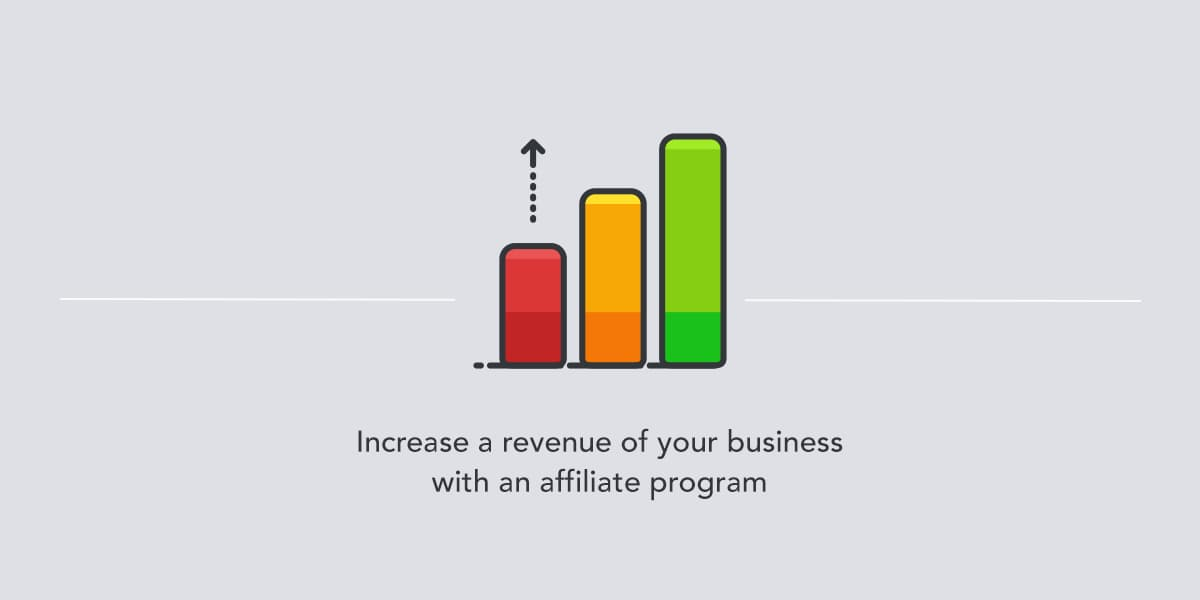 Increase a revenue with an affiliate program