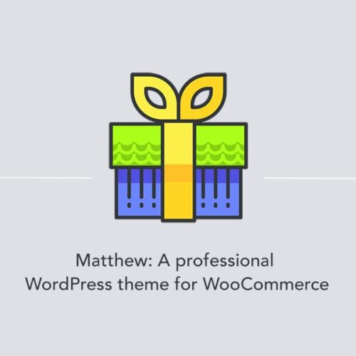 Introducing Matthew: A professional WordPress theme for WooCommerce