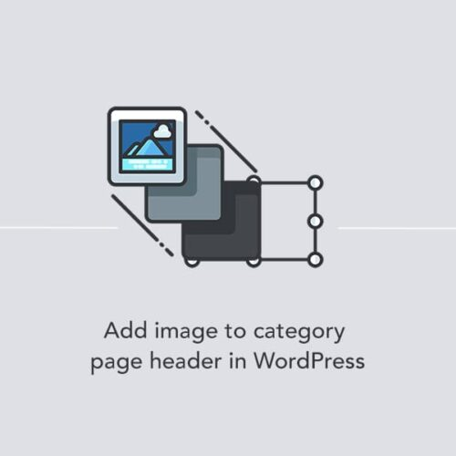 Adding a custom image to a category page header in WordPress