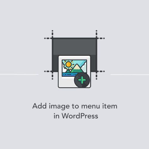 Adding a custom image to a menu item in WordPress